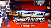 Transformers Robots In Disguise Railspike, team bullet train