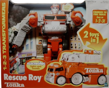 Go-Bots Rescue Roy