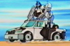 Robots In Disguise / RID (2001-) Ironhide & Mirage