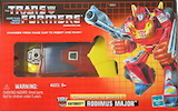 Transformers Vintage (Walmart exclusive) Rodimus Major (G1 reissue Hot Rod)