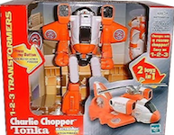 Transformers Go-Bots 1-2-3 Charlie Chopper