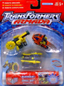 Transformers Armada Mini-Con Destruction Team (Buzzsaw, Drill Bit, Dualor)
