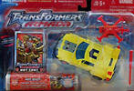 Transformers Armada Hot Shot w/ Jolt
