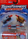 Transformers Armada Land Military Team (Wreckage, Knock Out, Bonecrusher)