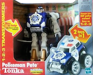 Transformers Go-Bots 1-2-3 Policeman Pete