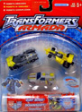 Transformers Armada Mini-Con Race Team (Downshift, Dirt Boss, Mirage)