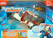 Transformers Armada Red Alert w/ Longarm