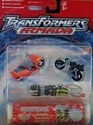 Transformers Armada Street Action Team / Perceptor (Sureshock, High Wire, Grindor)