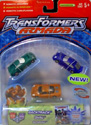 Transformers Armada Street Speed Team (Oval, Backtrack, Spiral)