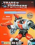 Transformers Commemorative Series Red Alert