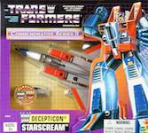 Transformers Vintage (Walmart exclusive) Starscream