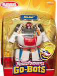 Transformers Go-Bots Fire-Bot (fire chief car)