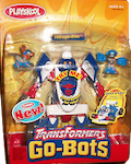 Transformers Go-Bots Mirage-Bot with Kid-Bot and Doggie