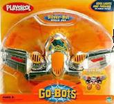 Transformers Go-Bots Silver-Bot (chrome jet)