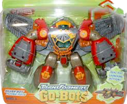 Transformers Go-Bots Silver-Bot Flying Fists