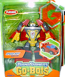Transformers Go-Bots Speed-Bot (Secret Shield - race car)
