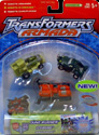 Transformers Armada Adventure Team (Dune Runner, Ransack, Iceberg)