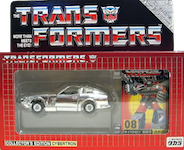 Takara - Collector's Edition (G1) Blue Streak (e-Hobby Silver Chrome)