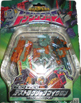 Takara - Micron Legend MM-09 X-Dimension Destruction Microns: Crush, Duster, Wheel