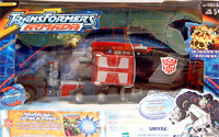 Transformers Armada Powerlinx Optimus Prime w/ Corona Sparkplug