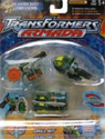 Transformers Armada Road Wrecker Team (Destruction Team repaint - Buzzsaw, Drill Bit, Dualor)