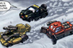 Armada Adventure Team (Dune Runner, Ransack, Iceberg)