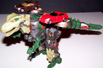 Armada Predacon w/ Sideburn and Skid-Z