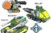 Armada Road Wrecker Team (Destruction Team repaint - Buzzsaw, Drill Bit, Dualor)