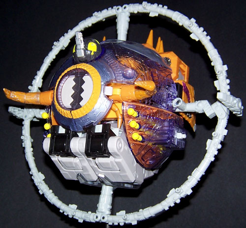 Transformers Armada Unicron With Dead End