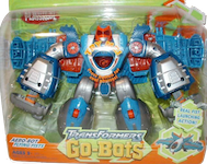 Transformers Go-Bots Aero-Bot Flying Fists (jet)