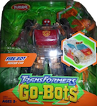 Transformers Go-Bots Fire-Bot (Invisibility Force - fire chief car)