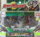 Robotmasters (Takara) RM-20 Delta Seeker vs X-Gunner