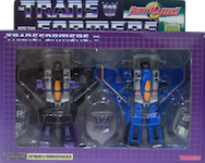 Robotmasters (Takara) Skywarp and Thundercracker