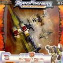 Universe Autobot Whirl w/ Gunbarrel & Makeshift