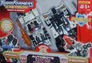 Transformers Energon Checkpoint & Prowl (KMart exclusive)