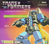 Transformers Commemorative Series Dirge