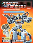 Transformers Commemorative Series Ricochet w/ Targetmaster Nightstick