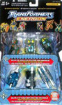 Transformers Energon Road Wrecker & Night Attack Team Mini-con 6-pk (Buzzsaw, Drill Bit, Dualor, Broadside, Fetch, Scattor)
