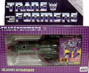 Takara - Collector's Edition (G1) Astrotrain (e-Hobby, prototype colors)