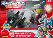 Transformers Energon Grimlock & Swoop