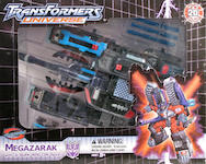 Transformers Timelines (BotCon) Megazarak with Caliburn