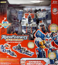 Transformers Energon Omega Sentinel