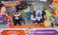 Transformers Energon Powerlinx Optimus Prime & Megatron (TRU exclusive)