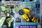 Transformers Energon Rapid Run w/ Nightcruz & Nightscream