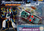 Transformers Energon Snow Cat