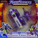 Transformers Universe Soundwave & Space Case