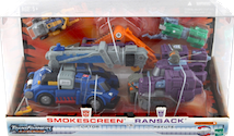 Transformers Universe Smokescreen vs. Ransack (multi-store Exclusive)