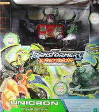 Transformers Energon Unicron w/ Dead End