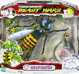 "Transformers Beast Wars 10th Waspinator w/ ""Possession"" DVD & Transmutate head/neck"