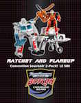 Transformers Timelines (BotCon) Flareup and Ratchet (Convention 2-pk)